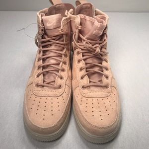 online store 23cca 52434 Nike Shoes - SF Air Force 1 Mid Coral Stardust Size 9.5 Men s
